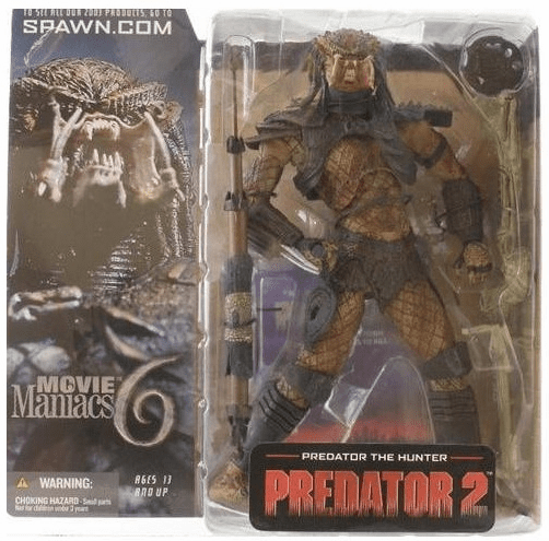 McFarlane Movie Maniacs 6 Predator the Hunter Figure