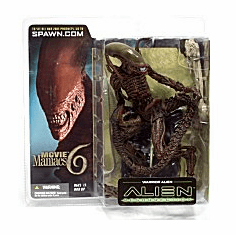 McFarlane Movie Maniacs 6 Warrior Alien Figure