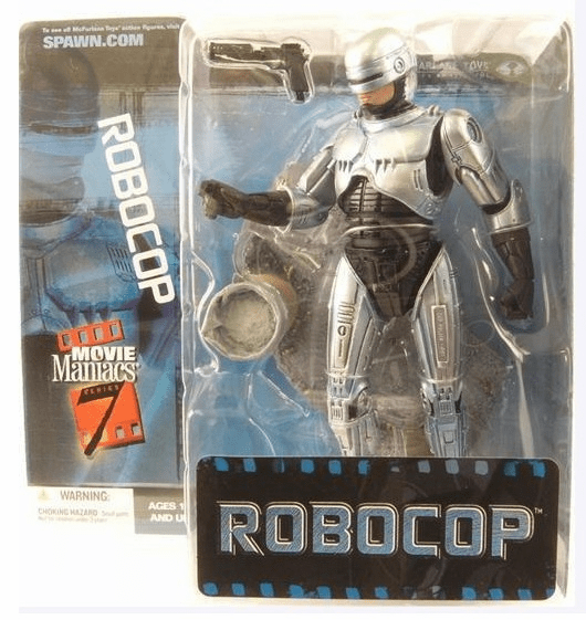 McFarlane Movie Maniacs 7 Robocop Figure