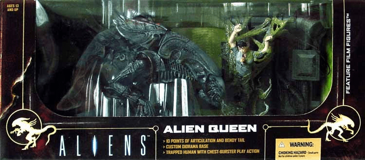 McFarlane Movie Maniacs Alien Queen Box Set
