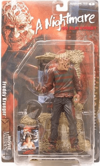 McFarlane Movie Maniacs Nightmare on Elm Street Freddy Krueger Figure