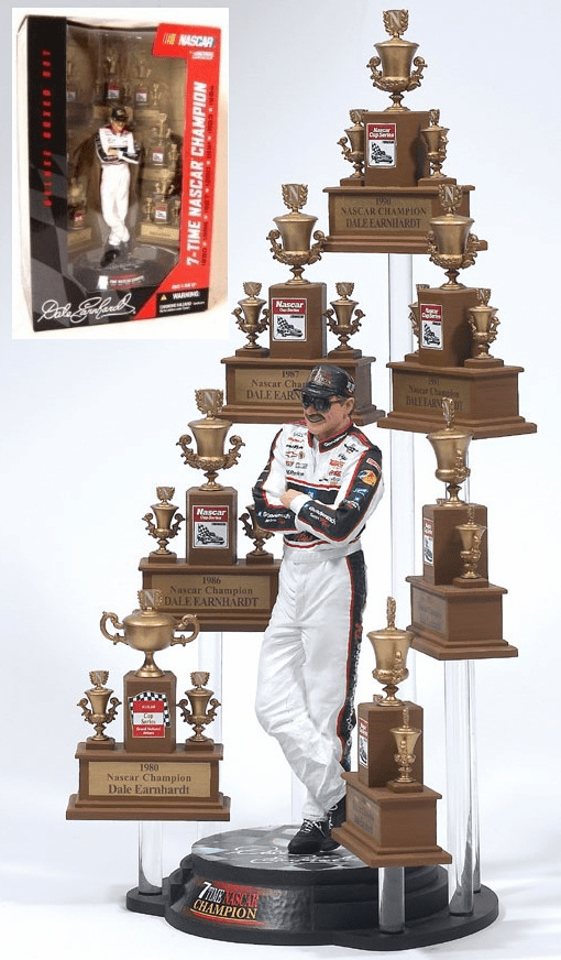 McFarlane NASCAR Dale Earnhardt Sr. Action Figure Box Set