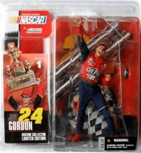 McFarlane NASCAR Series 1 Jeff Gordon Figure