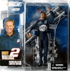 McFarlane NASCAR Series 1 Rusty Wallace Figure