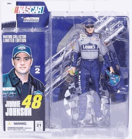 McFarlane NASCAR Series 2 Jimmie Johnson Figure