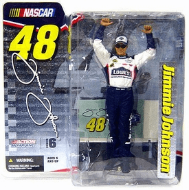 McFarlane NASCAR Series 6 Jimmie Johnson Figure
