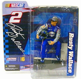 McFarlane NASCAR Series 6 Rusty Wallace Figure