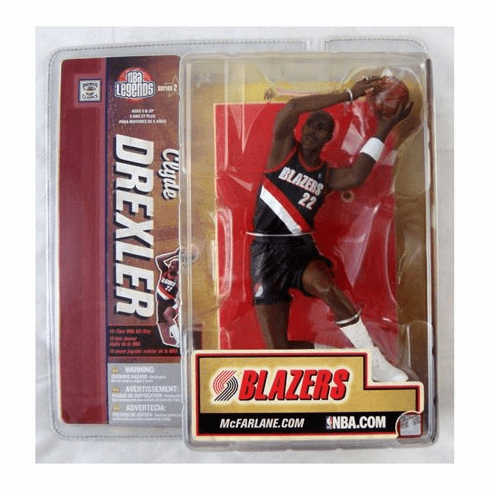 McFarlane NBA Legends Series 2 Clyde Drexler Figure