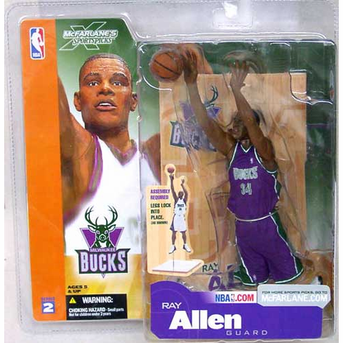 McFarlane NBA Series 2 Ray Allen Figure
