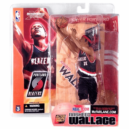 McFarlane NBA Series 3 Rasheed Wallace Figure