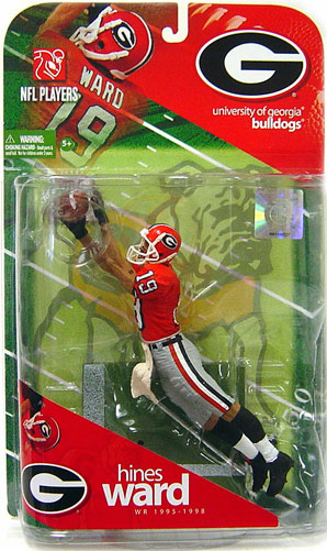 McFarlane NCAA College Football Series 1 Hines Ward Figure