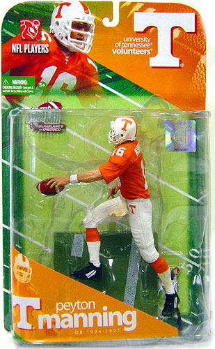 McFarlane NCAA College Football Series 1 Peyton Manning Figure