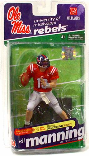 McFarlane NCAA College Football Series 2 Eli Manning Figure