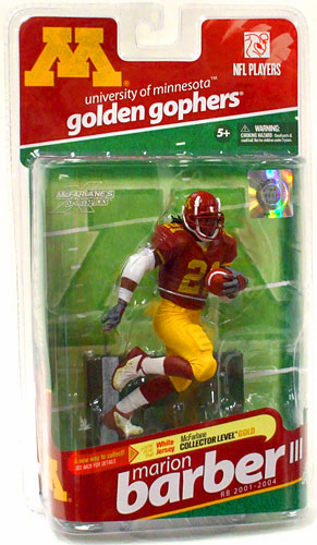 McFarlane NCAA College Football Series 2 Marion Barber III Figure