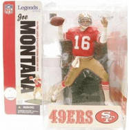 McFarlane NFL Legends Series 2 Joe Montana Figure