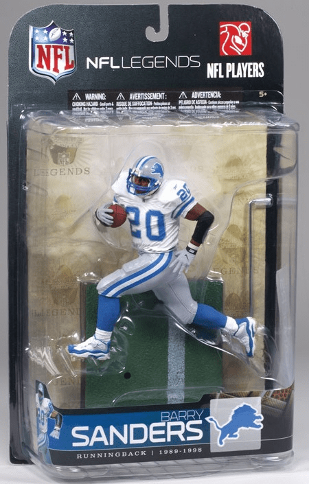 McFarlane NFL Legends Series 5 Barry Sanders Figure