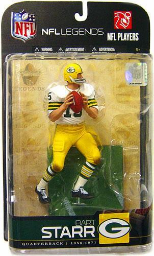 McFarlane NFL Legends Series 5 Bart Starr Figure