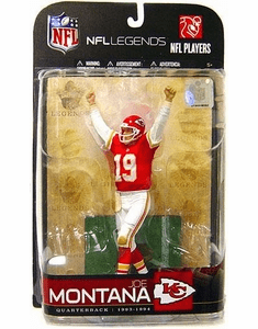 McFarlane NFL Legends Series 5 Joe Montana Figure