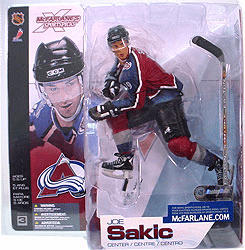 McFarlane NHL 3 Colorado Avalanche Joe Sakic Figure