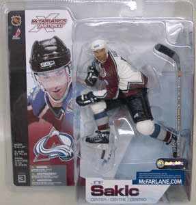 McFarlane NHL 3 Colorado Avalanche Joe Sakic Variant Figure