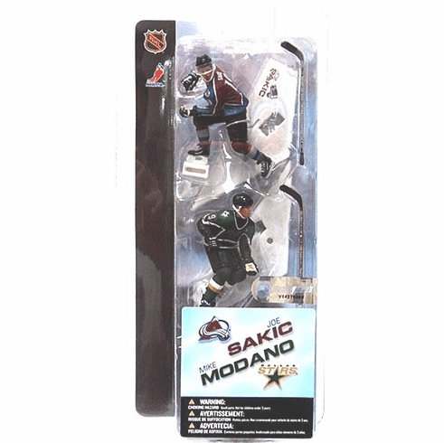 "McFarlane NHL 3"" Joe Sakic & Mike Modano Figures"