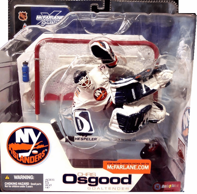 McFarlane NHL 3 New York Islanders Chris Osgood Figure