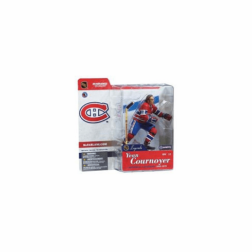 McFarlane NHL Legends 1 Montreal Canadiens Yvan Cournoyer Figure
