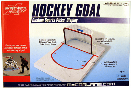 McFarlane NHL Modern Hockey Goal Net Display