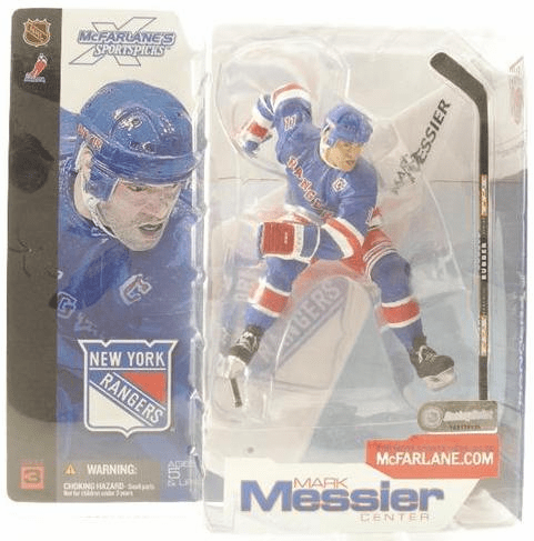 McFarlane NHL Series 3 New York Rangers Mark Messier Figure