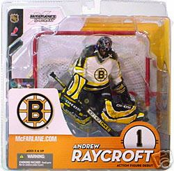 McFarlane NHL Series 9 Boston Bruins Andrew Raycroft Figure
