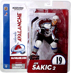 McFarlane NHL Series 9 Colorado Avalanche Joe Sakic Figure