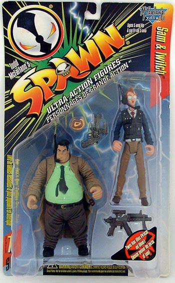 McFarlane Spawn 7 Sam and Twitch with Polic Vest Figures