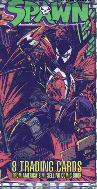 McFarlane Spawn Trading Cards Pack