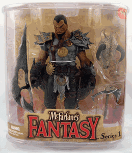 McFarlane The Legend of the Bladehunters Tyr The Dragon Rider Figure