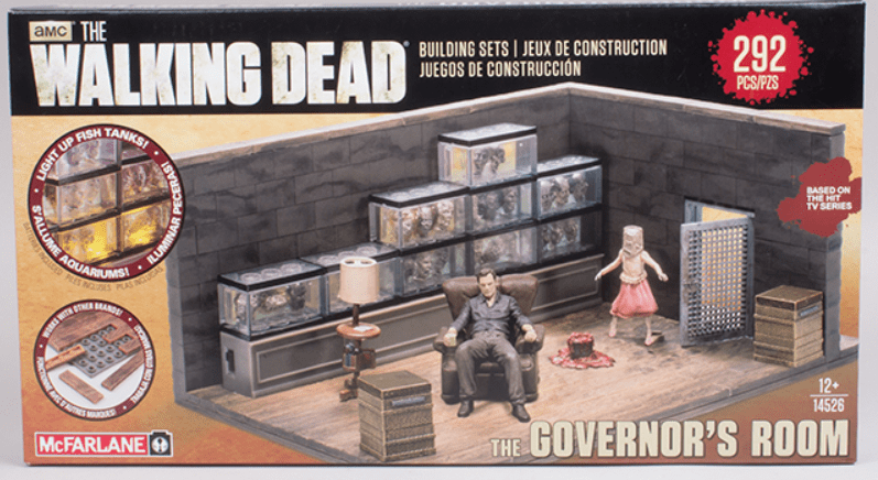 McFarlane The Walking Dead The Governor's Room Construction Set