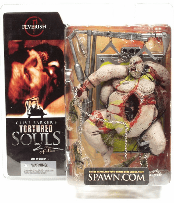 McFarlane Tortured Souls 2 Feverish Figure