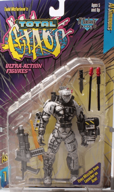 McFarlane Total Chaos Al Simmons Action Figure