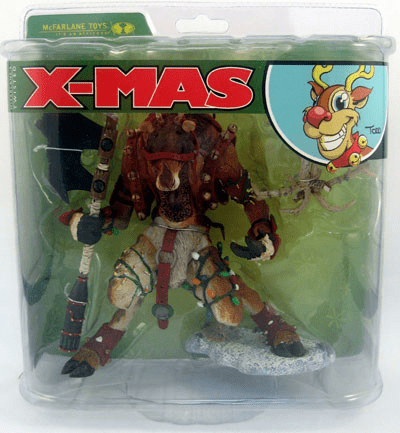 McFarlane Twisted Christmas Reindeer Rudy Figure