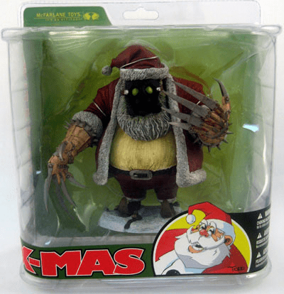 McFarlane Twisted Christmas Santa Claus Figure