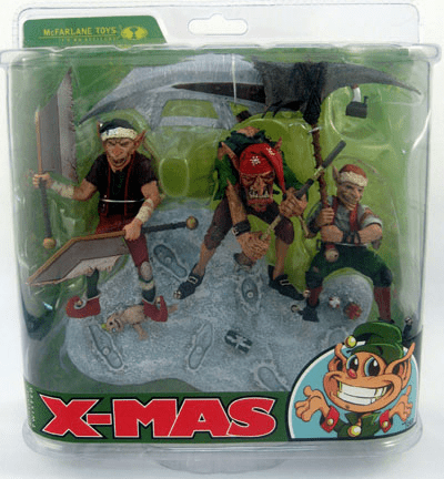 McFarlane Twisted Christmas Santa's Little Helpers Figures