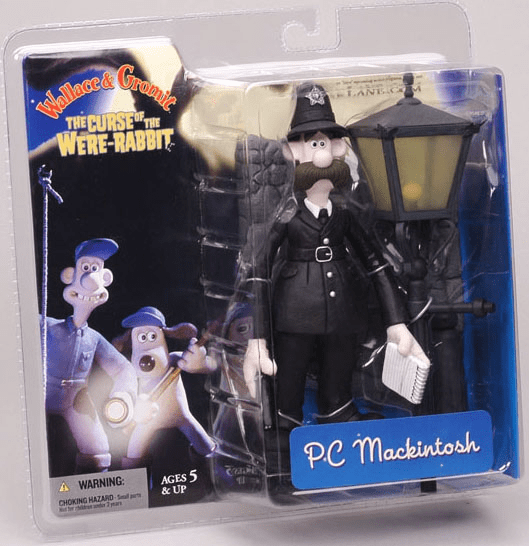 McFarlane Wallace & Gromit PC Mackintosh Action Figure