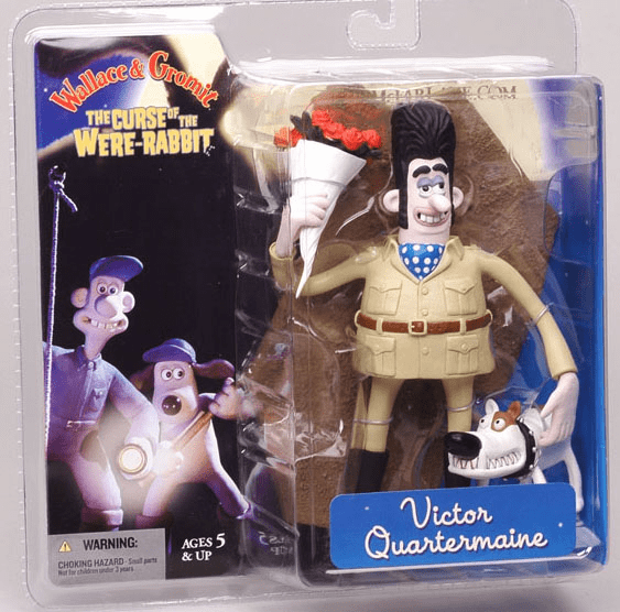 McFarlane Wallace & Gromit Victor Quartermaine Action Figure