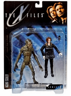 McFarlane X-Files Agent Scully Figure