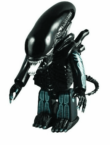 Medicom 400% Kubrick Warrior Alien Figure