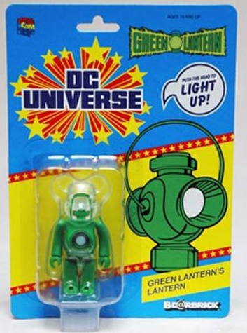Medicom Bearbrick DC Super Powers Green Lantern Light-Up Figure