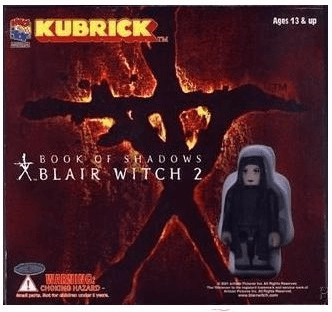 Medicom Blair Witch Project 2 Book of Shadows Kubrick Figures