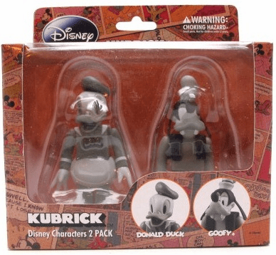Medicom Disney Donald Duck and Goofy Kubrick Figure Set