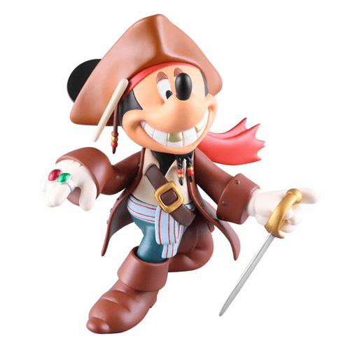 Medicom Disney Mickey Mouse Jack Sparrow Vinyl Figure