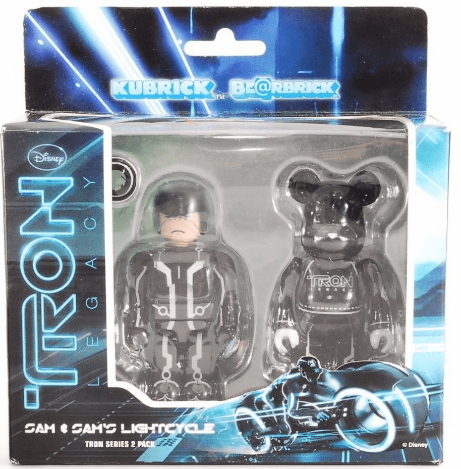Medicom Kubrick Tron Legacy Sam & Lightcycle Bearbrick Set
