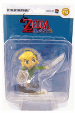 Medicom Legend of Zelda Wind Waker Link Ultra Detail Figure